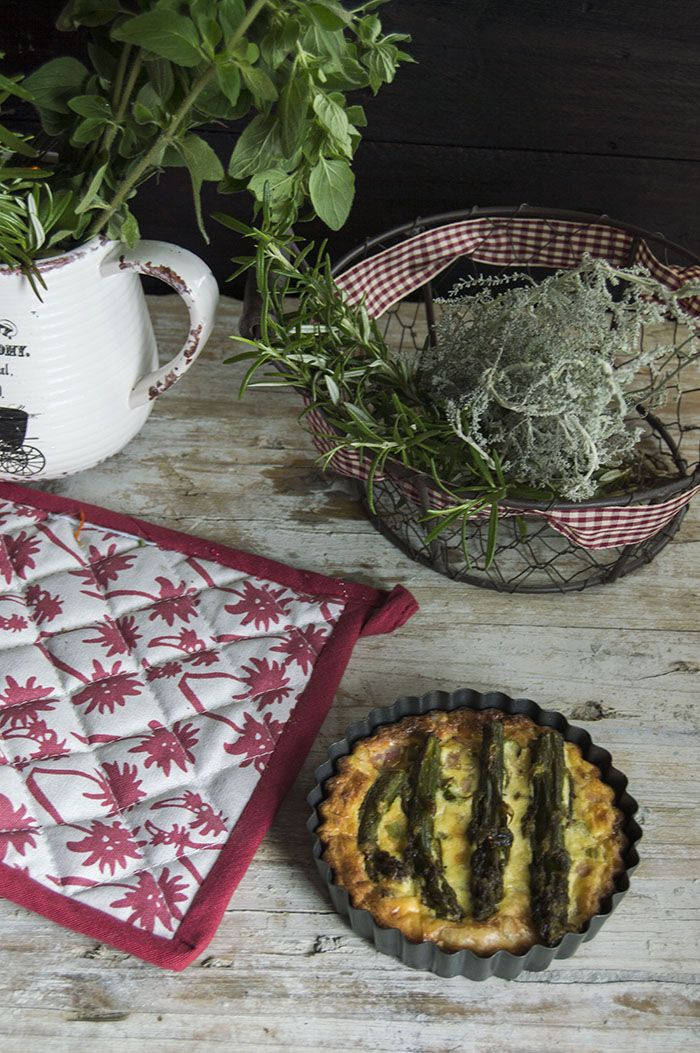 QUICHE DE ESPÁRRAGOS - Magdalena, cocina y más