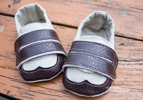 Ashton Baby Sneaker PDF Pattern - New Pattern Sale! % Off!