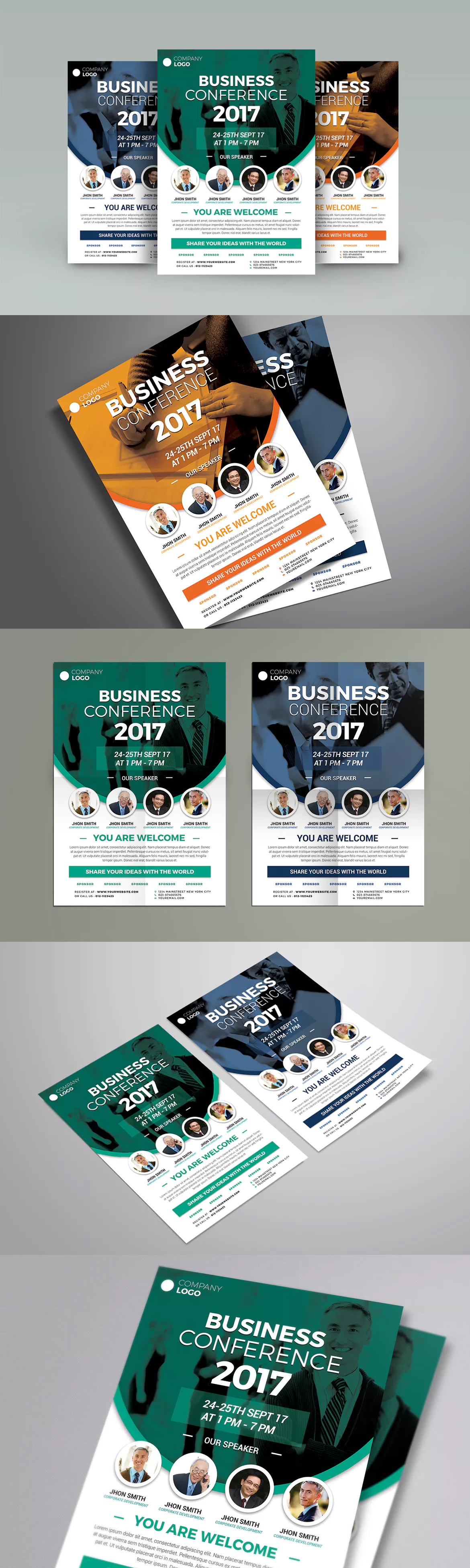 Conference Flyer Template Psd  Flyer Template    Flyer