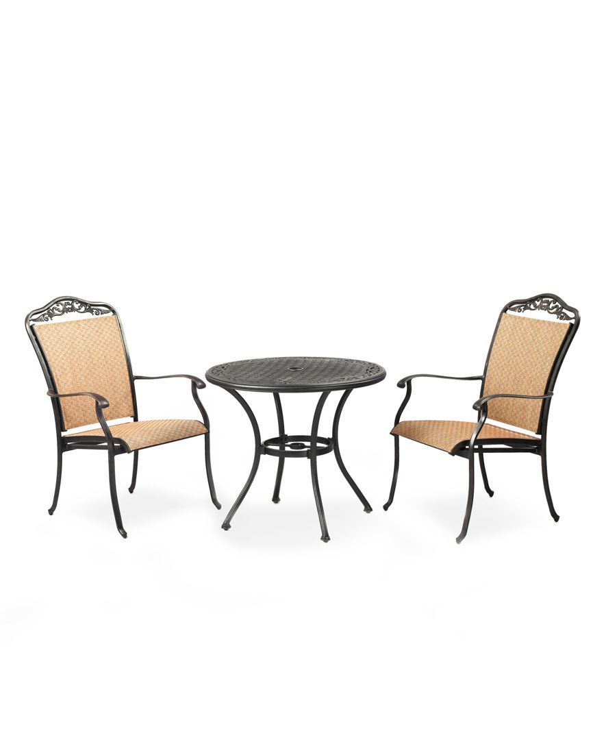 Round Dining Table And 2