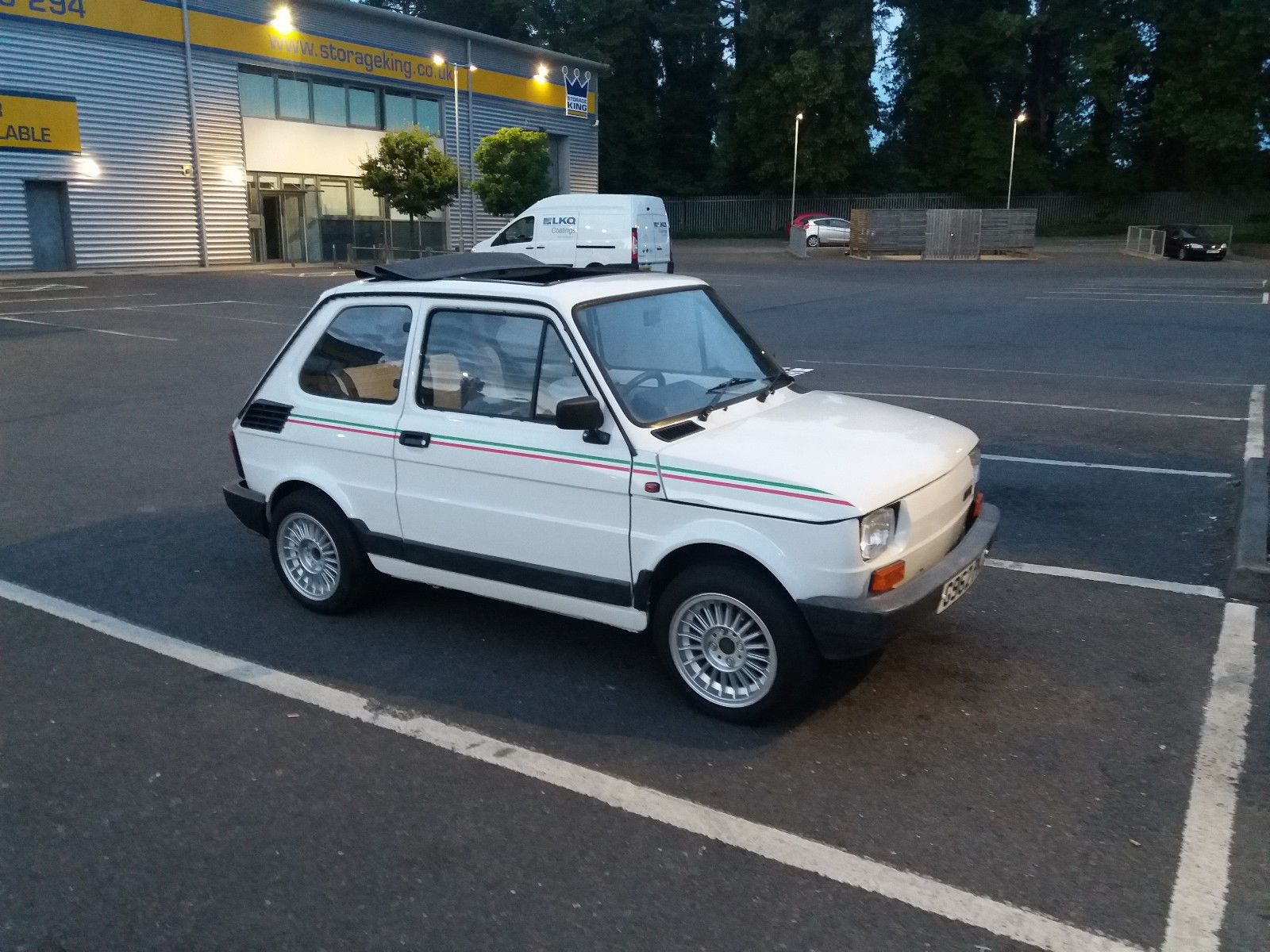 eBay: FIat 126 BIS Tetto Panoramico #classiccars #cars | UK Classic ...
