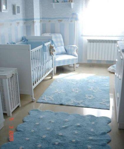 Lorena canals alfombras para el beb en azul - Lorena canals alfombras ...