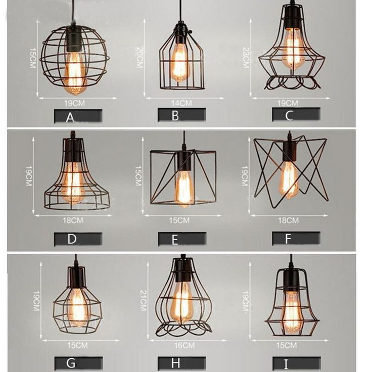 Perfect Industrial Style Pendant Light, Elegant And Fine. 1 X Pendant Light  Lampshade(Bulb Is Not Included).