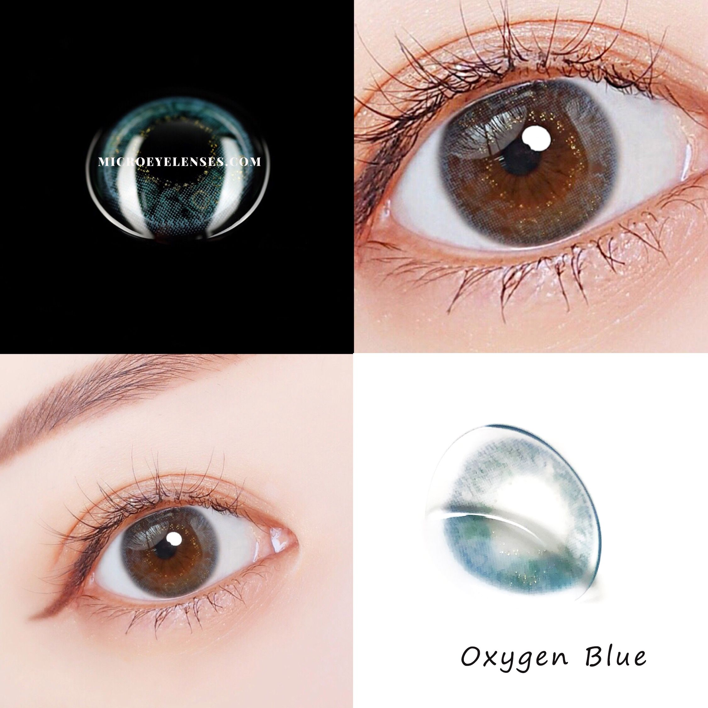 Microeyelenses Com Oxygen Blue Dream Colored Contacts Lens Coloredcontactlenses Bestcoloredcontacts Cheapcolorcontacts Colorcontactlenses Coloredeyecon Mắt