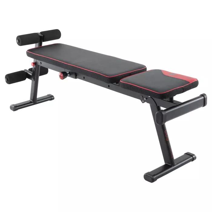 Banc De Musculation 500 Pliable Et Inclinable Banc De Musculation Musculation Et Appareil Musculation