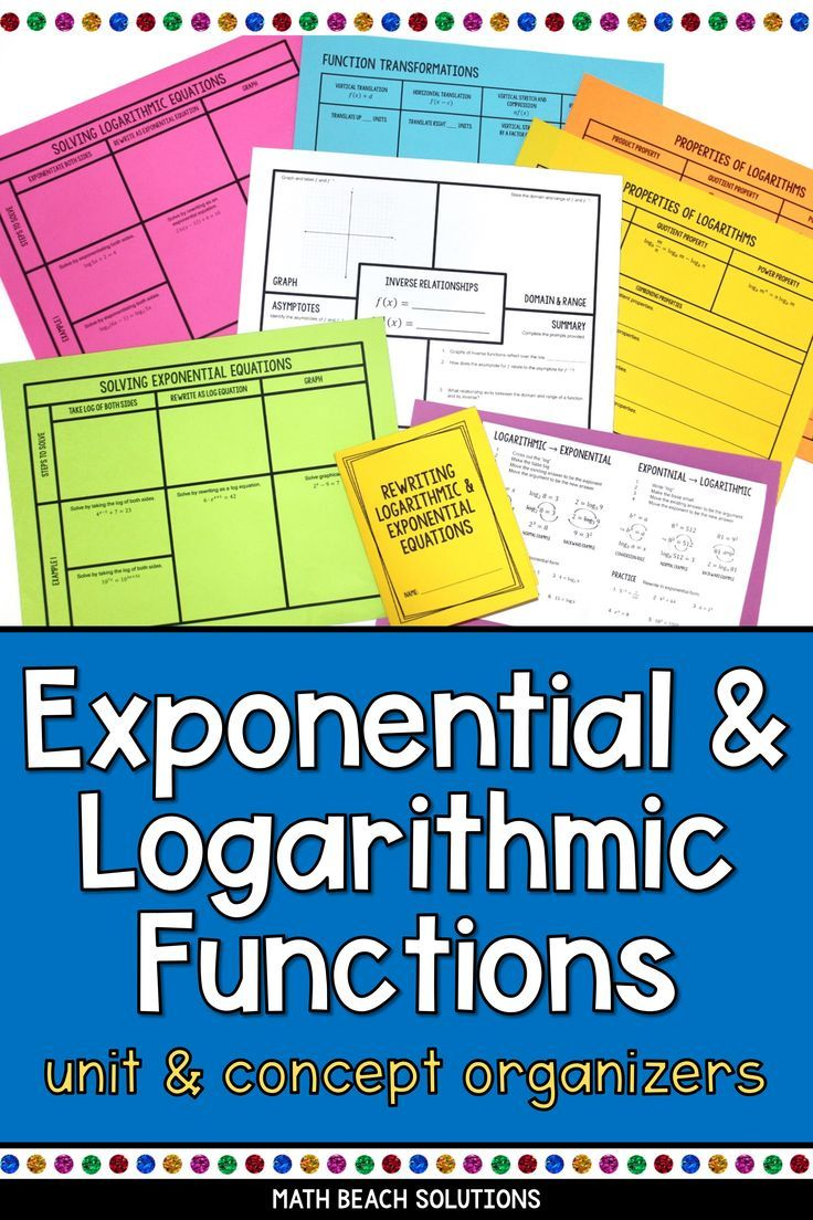 Pin on Exponential Functions and Equations