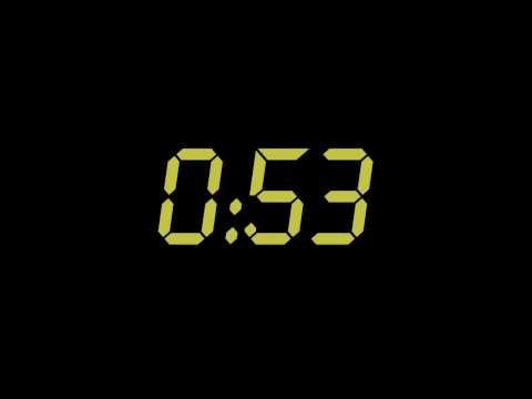 """""""24"""" Themed Countdown Clock (1 Minute) - YouTube"""