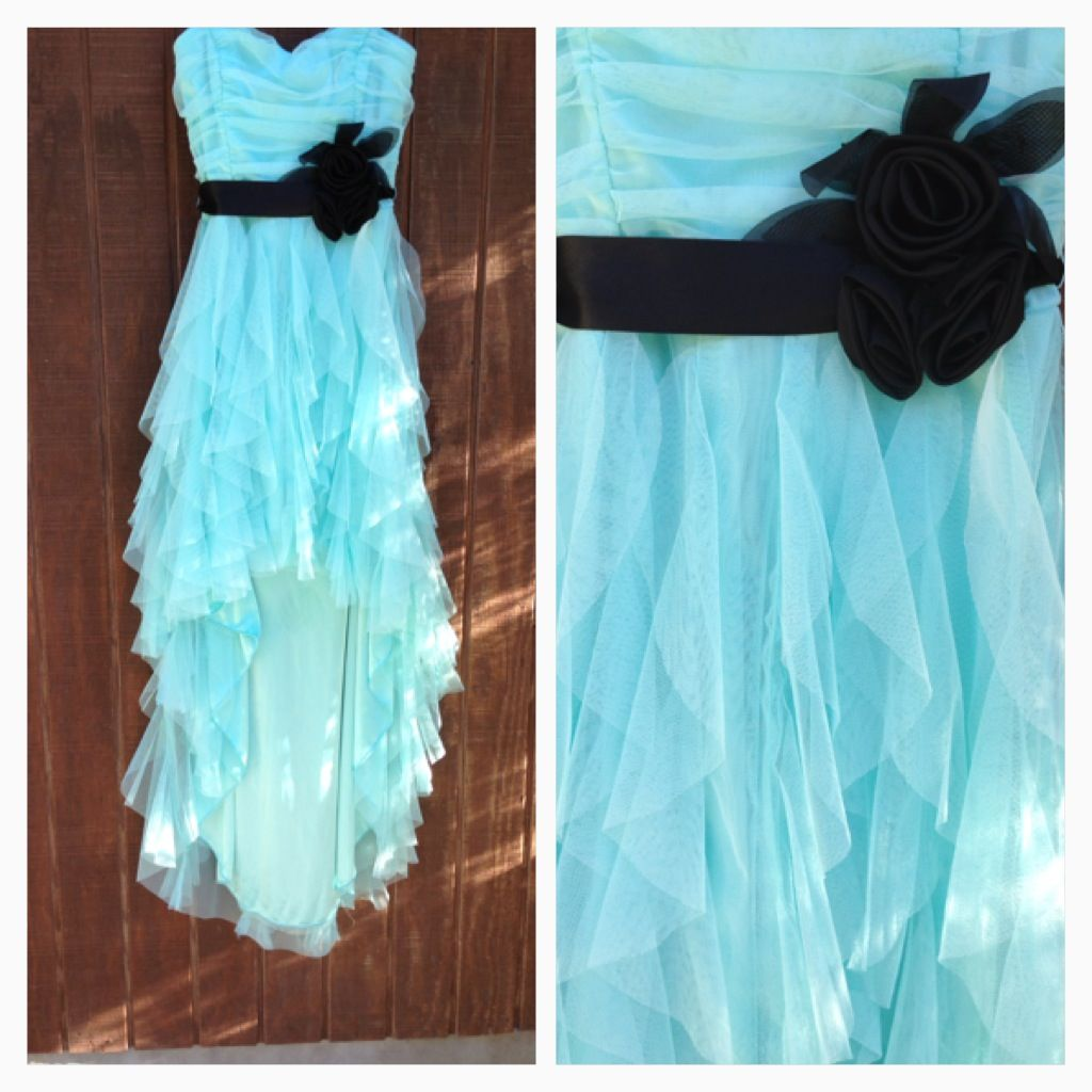 Size 7 high low Formal homecoming sweethearts or prom dress ...