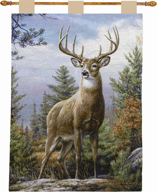 Standing Proud I Tapestry Wall Hanging