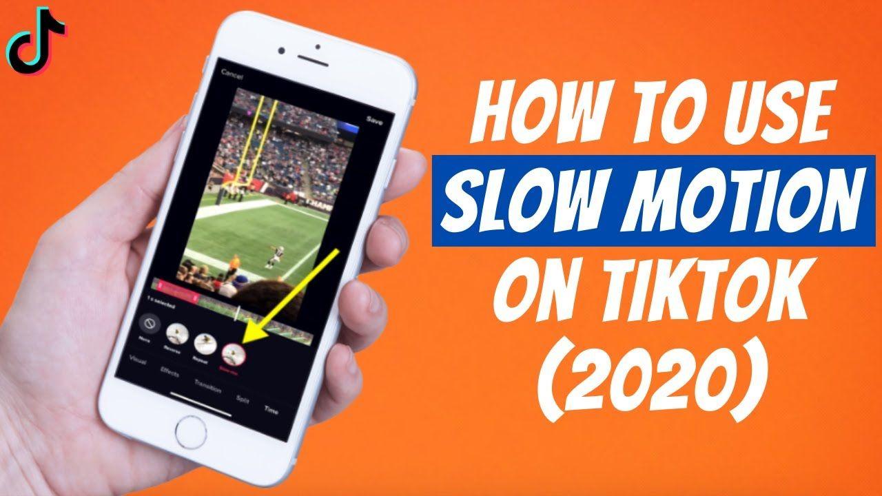 How To Use Slow Motion Effect On Tiktok 2020 Slow Mo Tik Tok Videos Motion Videos Tutorial Tik Tok