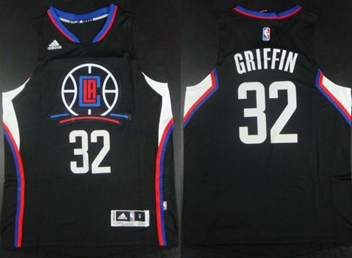 Clippers  32 Blake Griffin Black Alternate Stitched NBA Jersey  31ec2e51d2aa