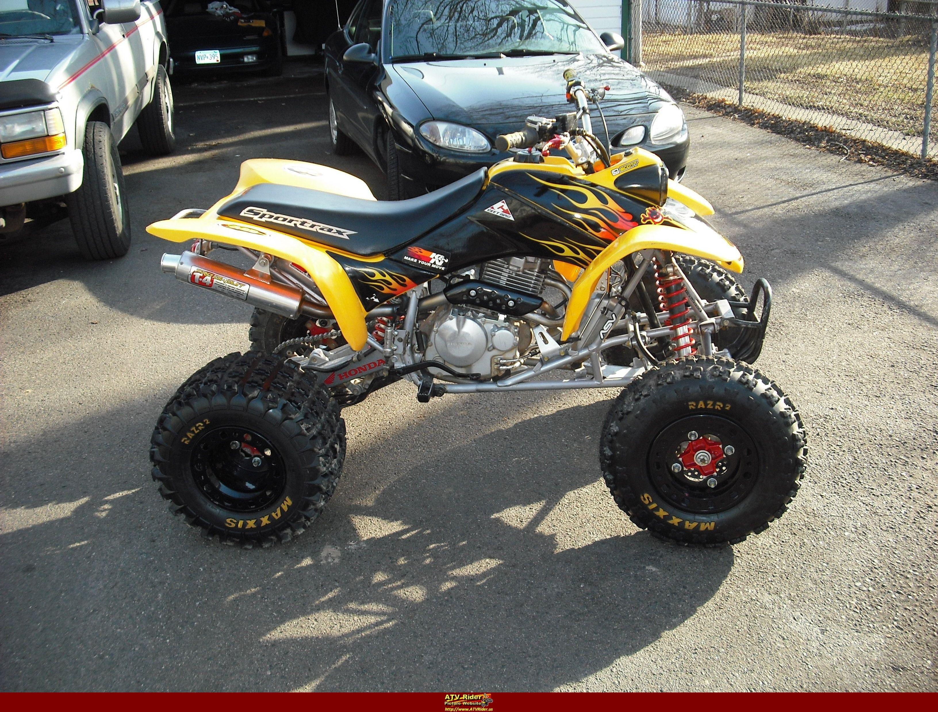 Sweet 400ex Motocross 4 Wheelers Quad