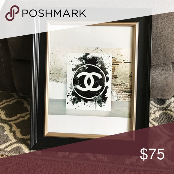 CC picture frame 10x13 frame CHANEL Other | My Posh Closet ...