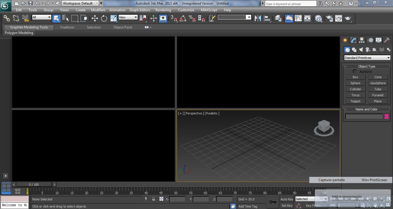 Autodesk 3Ds MAx 2013, tiempo de aprender a usar una nueva herramienta