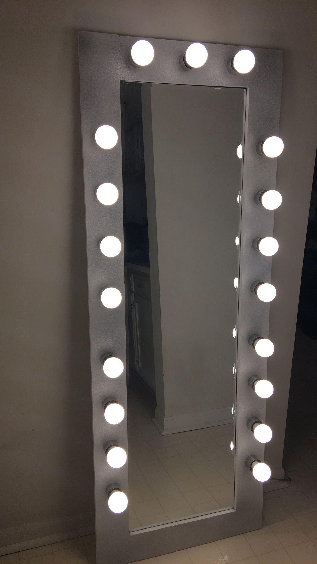Full Body Vanity Mirror Lights