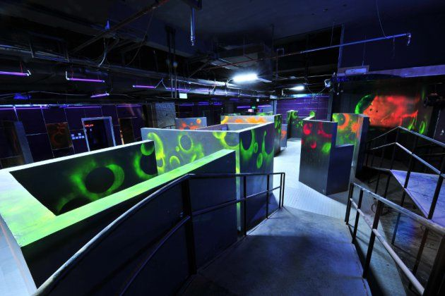 Laser Tag Arena Laser Tag Airsoft Field Archery Tag