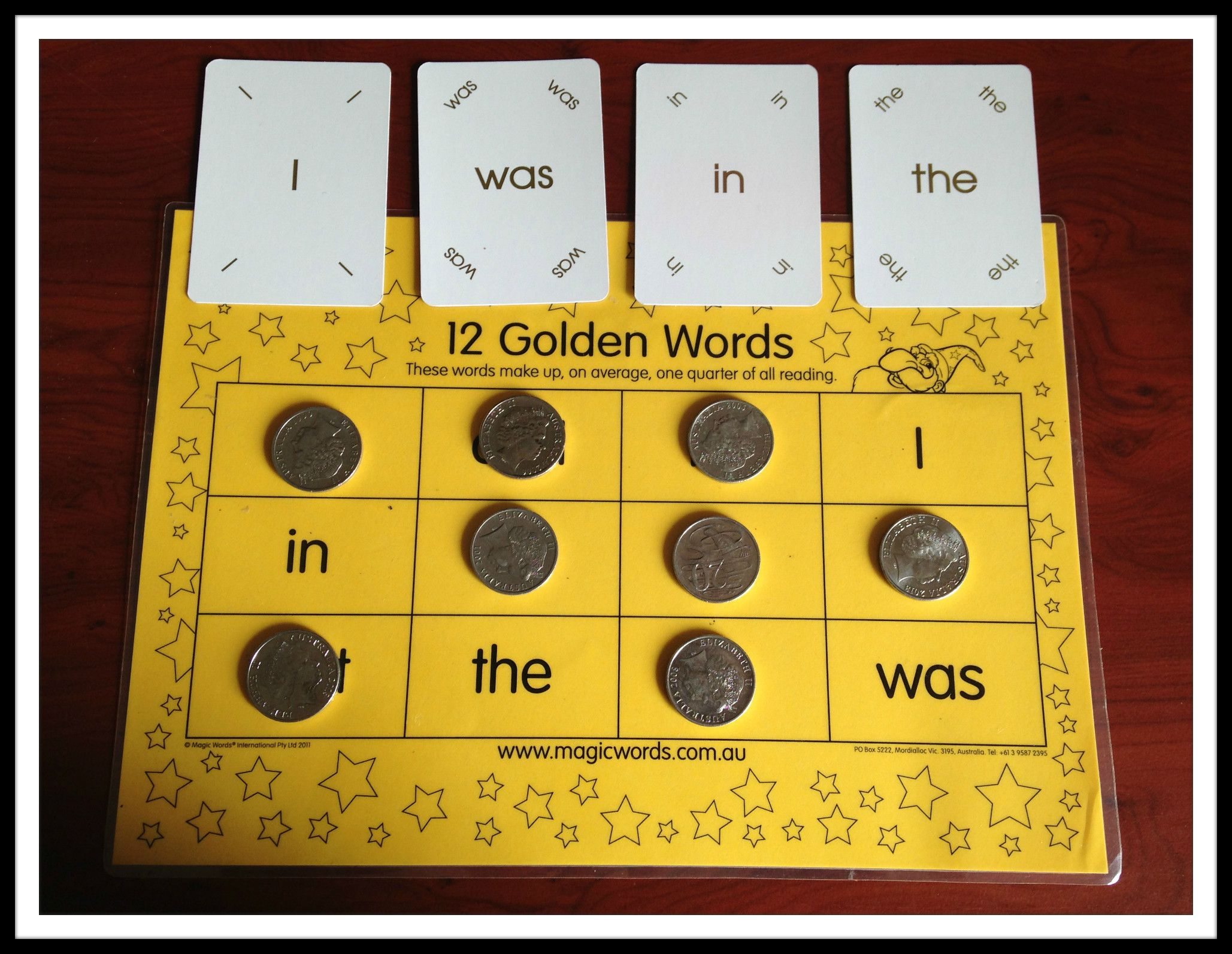 Ideally Children Will Be Able To Find The Golden Words In