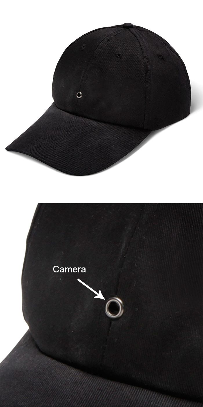 The Video Recording Cap- 2015 Holiday Gift Guide. Available exclusively from Hammacher Schlemmer, the…