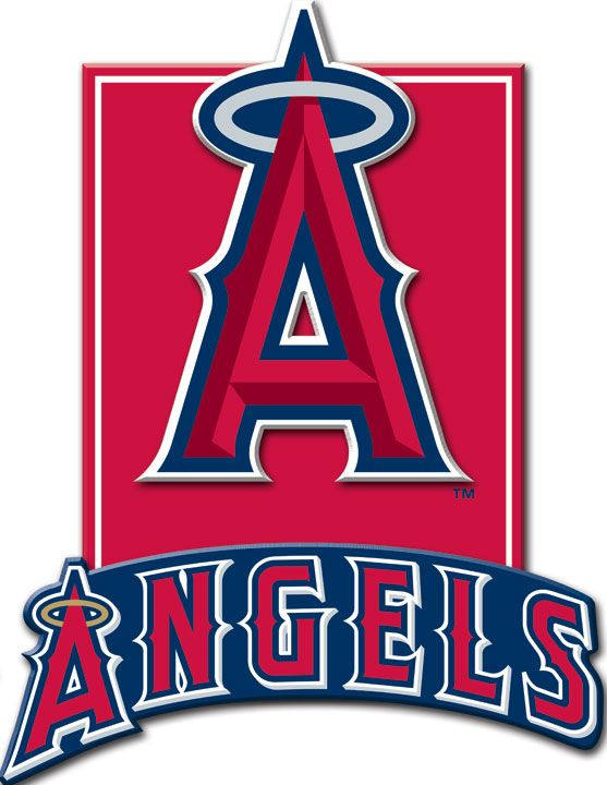 Los Angeles Angels 3D Plaque Target