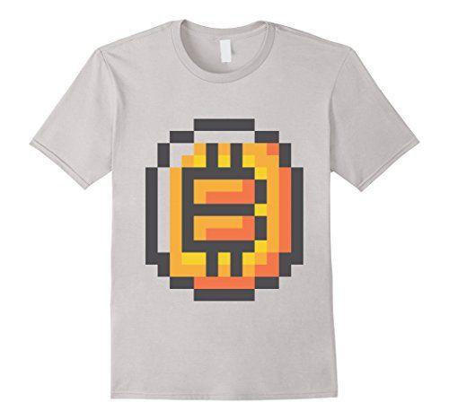 8 Bit Cryptocurrency Bitcoin Shirt