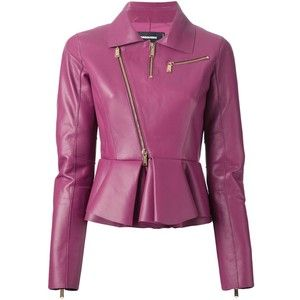 Dsquared2 Peplum Biker Jacket