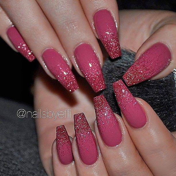 repost - dark rose pink