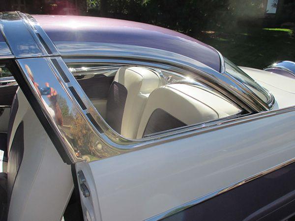Ford Fairlane Crown Victoria Rear Seat View Through Quarter Window Lebaron Bonney Company