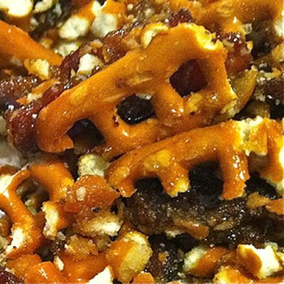 For all you pork fans, here is one easy pork-based recipe with minimal ingredients: Bacon Brittle.  2011 has been a year of adventures for the Cooking with Caitlin crew. We have been to Chicago, New York, Italy, and LA this year. With every...