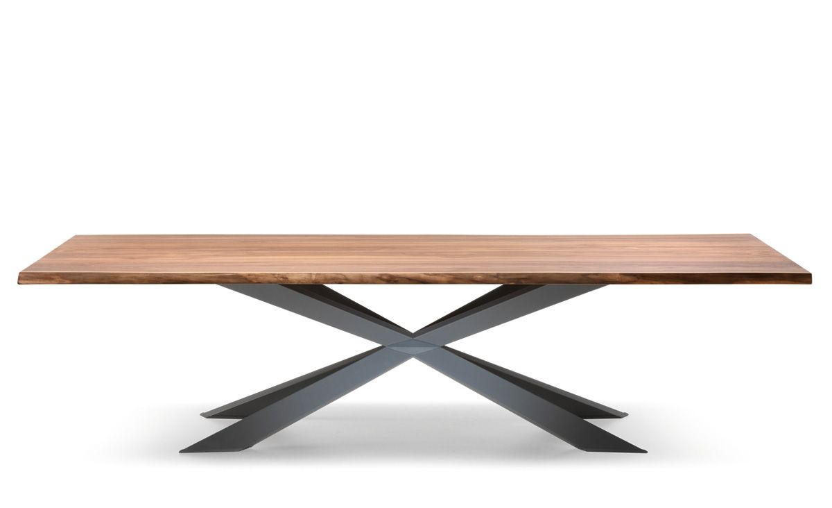 Tables Fixes Spyder Wood Cattelan Italia Dining Table Design