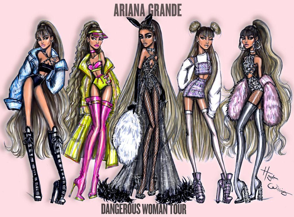 Ariana Grande Dangerouswomantour Collection By Hayden Williams
