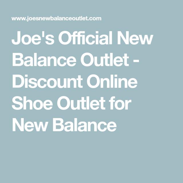 joe's official new balance outlet