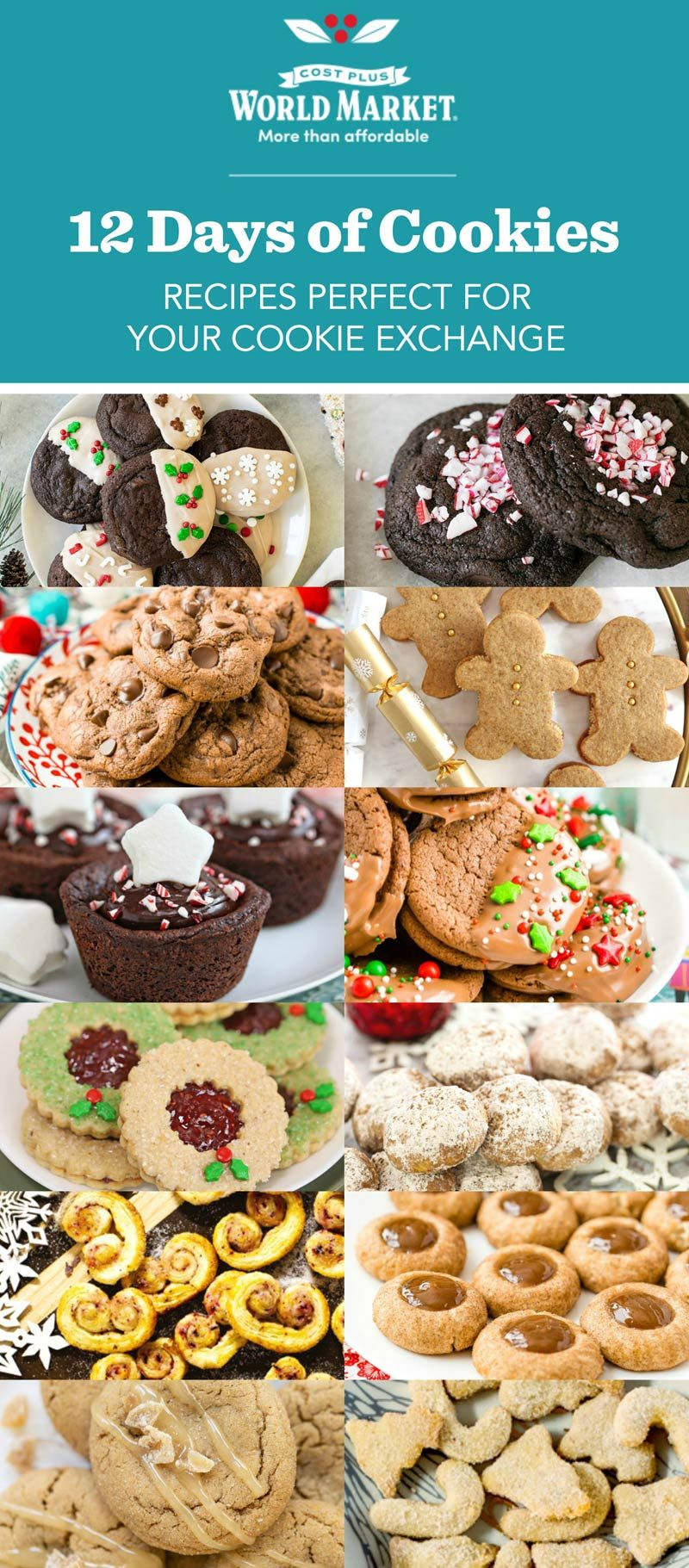 12 Days Of Christmas Cost 2019 Cost Plus World Market 12 Days of Cookies  Tis the season for