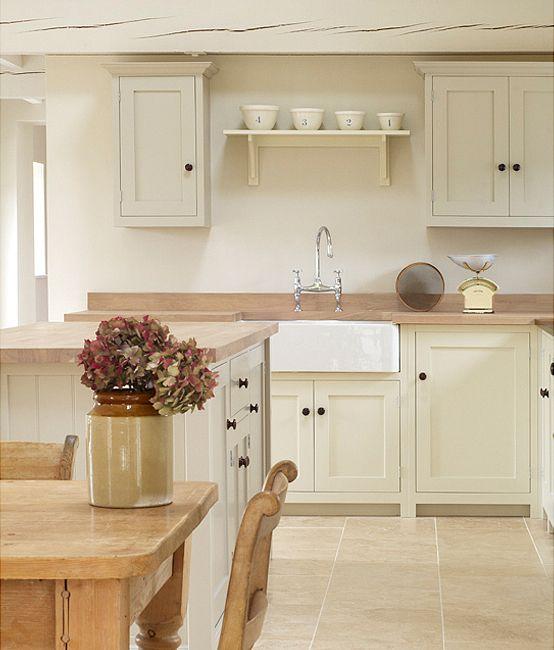 Ivory Shaker Kitchen Pictures: Cuisine Rénovée