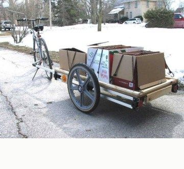 Do it yourself bike trailer kit bike trailler pinterest campo do it yourself bike trailer kit solutioingenieria Image collections