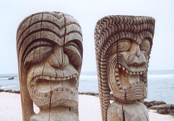 Superb Dot Tiki Face Hawaiian /& Maori Inspired Designs