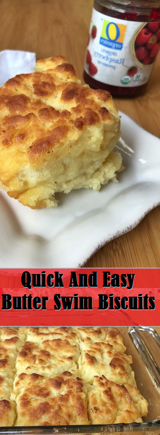 Quick And Easy Butter Swim Biscuits #butterswimbiscuits Quick And Easy Butter Swim Biscuits #butterswimbiscuits
