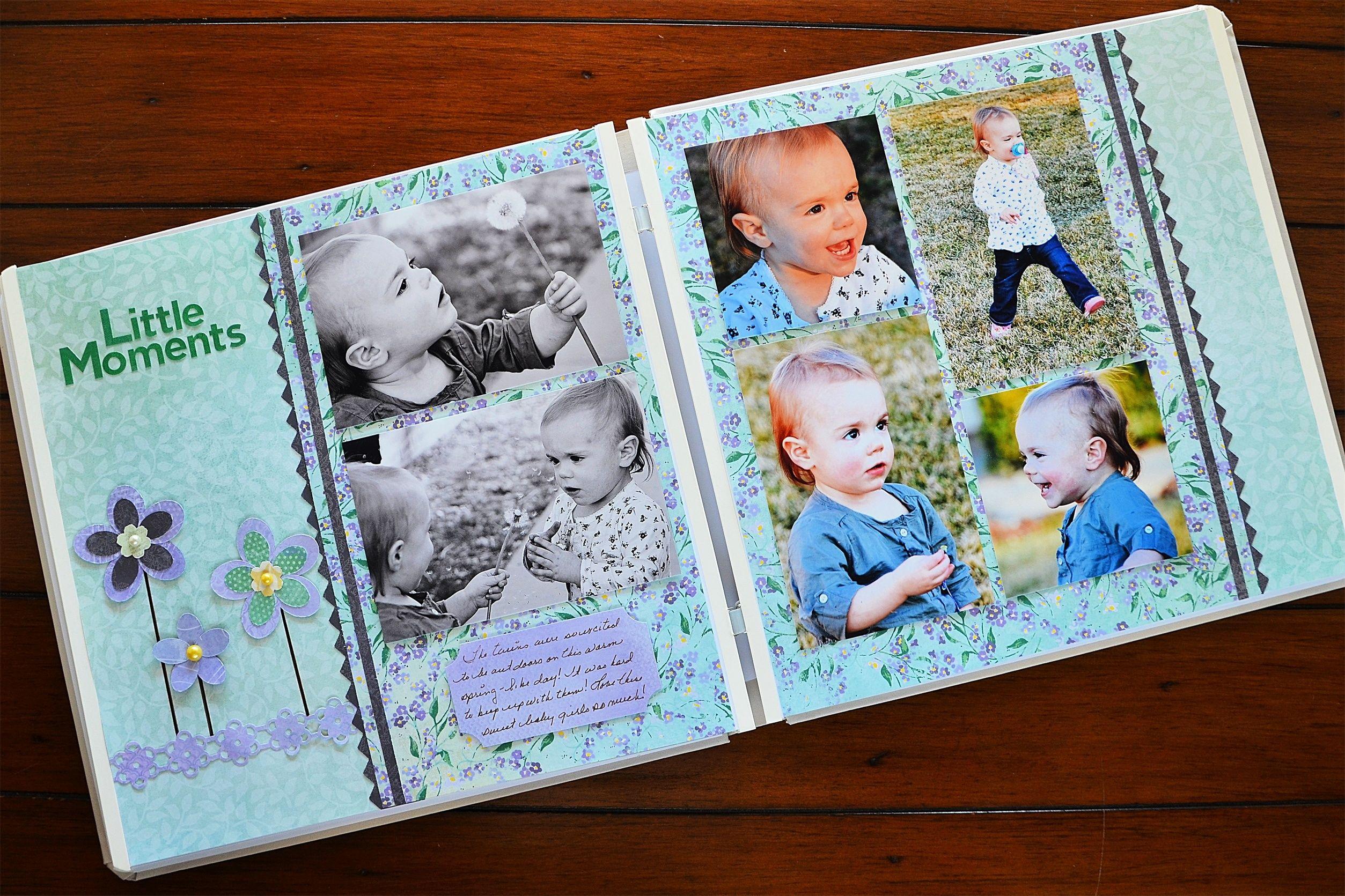 Scrapbook ideas creative memories - Creative Memories Fresh Picks Collection Creates Beautiful Spring Scrapbook Layouts Creativememories Scrapbooking