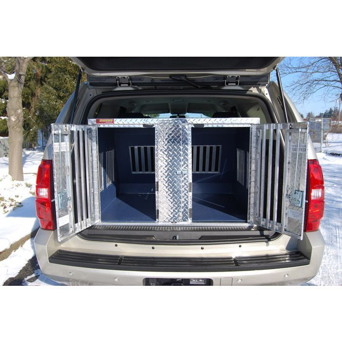 Owens Hunter Aluminum Double Dog Box For Chevy Tahoe Gmc Yukon Chevy Tahoe Tahoe Dog Box