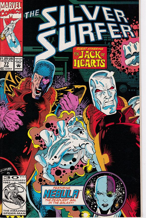 Silver Surfer 77 1987 2nd Series  June 1993  Marvel