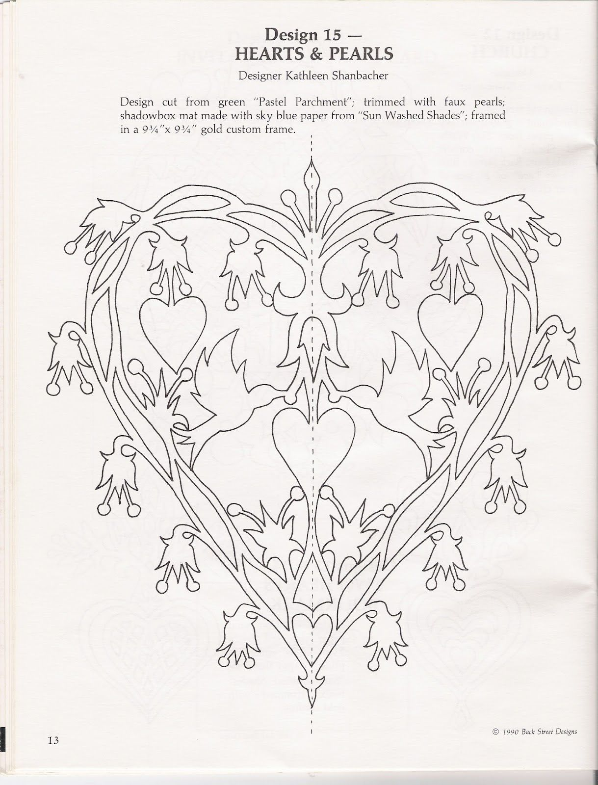 Hearts and Pearls pattern inkspired musings: Peace doves