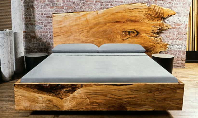 Massive Wood Bed   Google Search