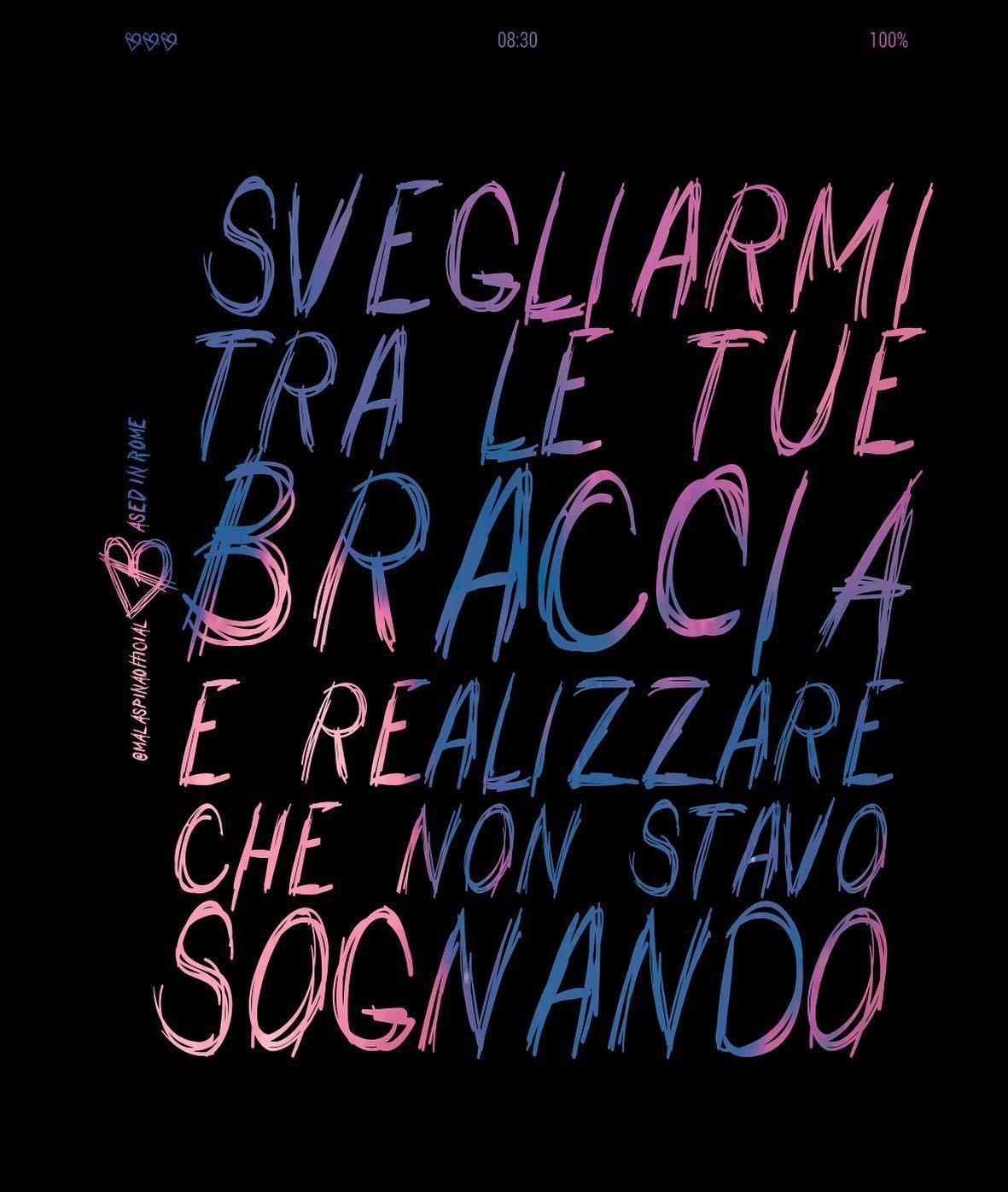 ❤️🥰 @malaspinaofficial . #malaspina #malaspinaofficial #essere #frasibellissime #citazioni #aforisma #aforismi #pensieri #frasidamore #tivogliobene #frasi #frasitop #frasibelle #frasitumblr #frasivere #frasiitaliane #frasisignificative #citazione #felicità #pensiero #vita #amore #tiamo #mente #tumblr #frasiitaliane #mimanchi #amicizia