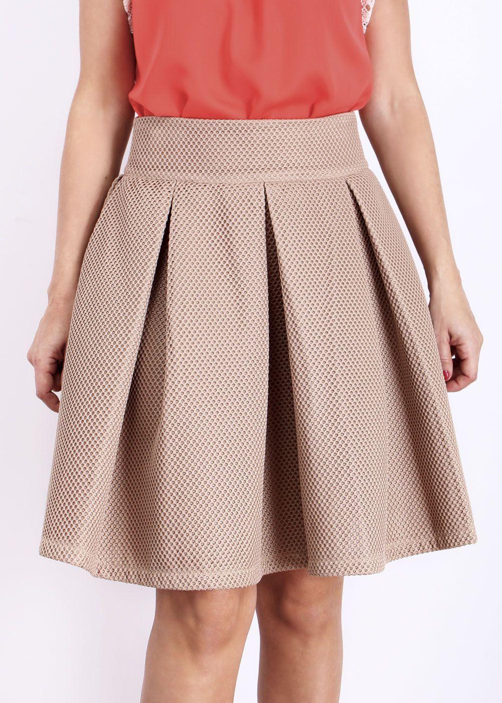 32c434dc9 Resultado de imagen para vestidos con tablones en la falda casuales ...