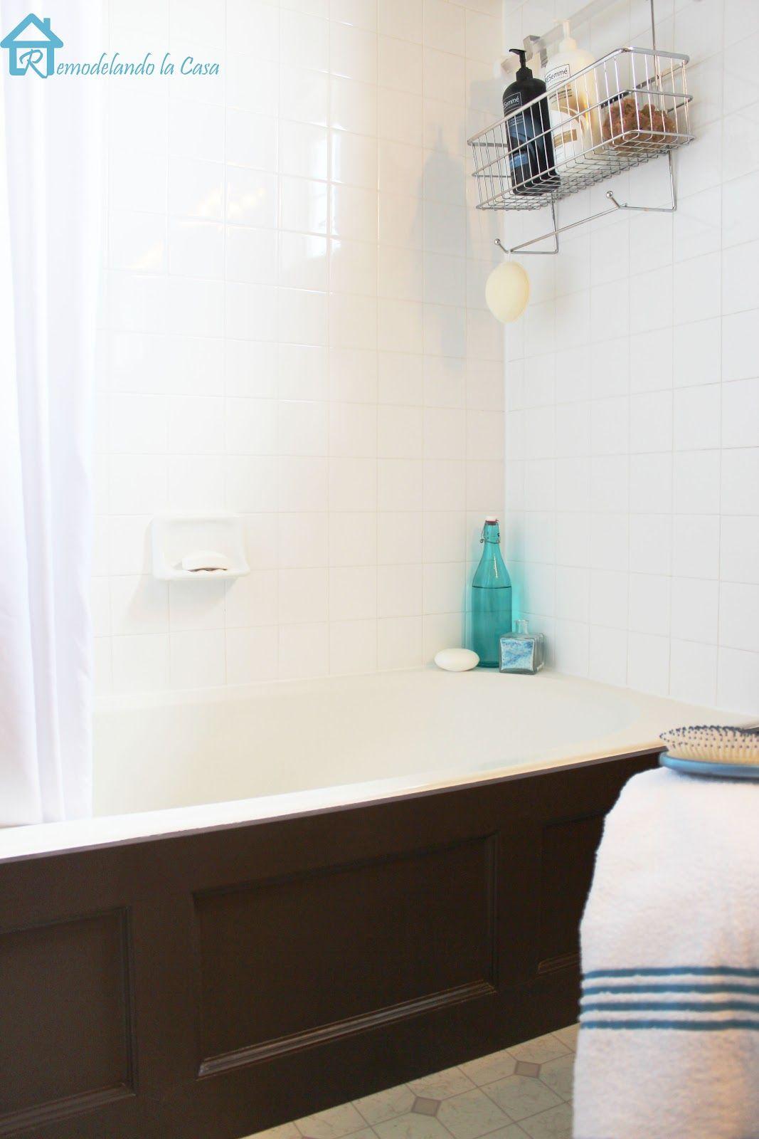 Bathtub Wood Panel Cover | Bathtubs, Woods and Bathtub cover