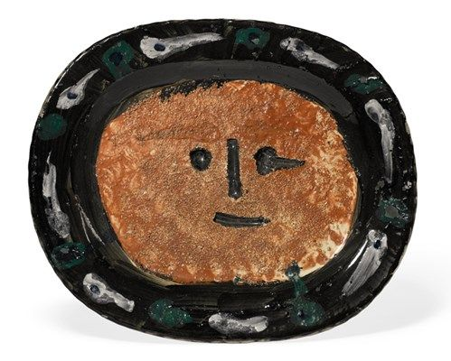 Picasso visage 2269NEDI 23-11-16.jpg  42.000 GBP