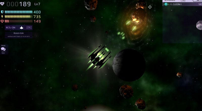 You Can Play Starblast Io Unblocked Game For Free Online In Two