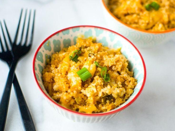 Quinoa Mac und Käse -