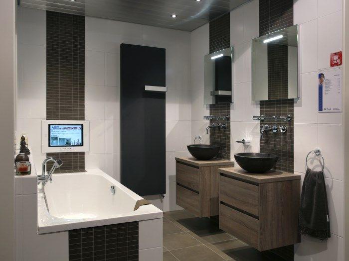 Mooie badkamers met inloopdouche google zoeken my home pinterest - Model badkamer design ...