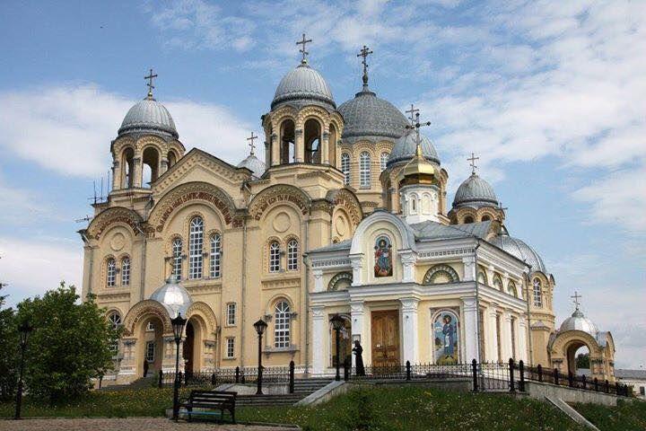 St. Nicholas Monastery, Verkhoturye, #Russia