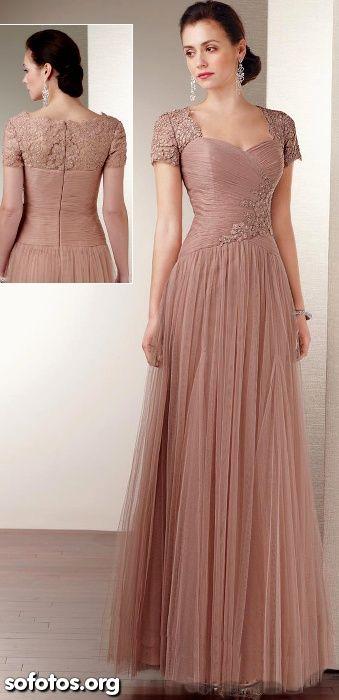 72faad237 Vestido de festa moda evangelica | vestidos | Prom dresses, Dresses ...